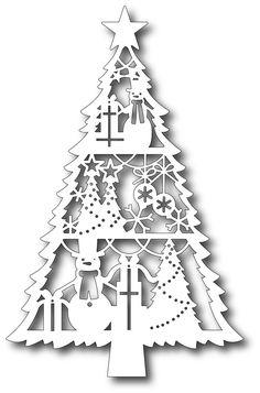 Tutti Designs - Cutting Die - Holiday Spirit Tree,$12.99