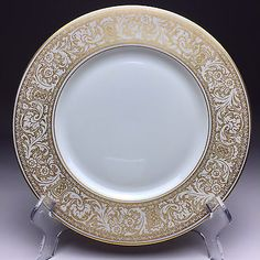 Yamato China Helena Bread Butter Plate Dish Porcelain Japan Floral ...