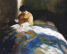 Mary Whyte. Портреты акварелью. Пятнадцатый