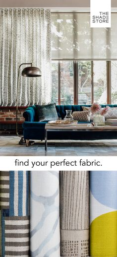 With 400+ materials, you're sure to find the perfect fabric for your windows. Order your free swatches today, and receive them in 1-3 business days.