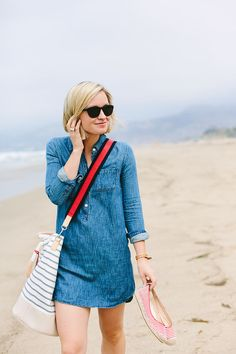 beachy chambray.