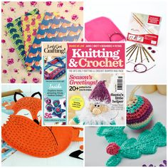 5 GREAT THINGS TO DO THIS WEEKEND  - Buy the brand new issue of LGC Knitting & Crochet - Enter our #knitting short story #comp for your chance to win luxury needle and hook sets: http://www.letsgetcrafting.com/story - Get hold of @Chris Parker Magazine to get your fab wildlife notebook - Try your luck at entering one of our giveaways: http://www.letsgetcrafting.com/giveaways  - Download our exclusive Christmas decoration patterns by Lucinda Ganderton: http://www.letsgetcrafting.com/#knitting