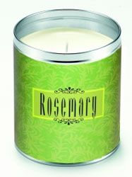 Aunt Sadie's Rosemary Scroll Candle