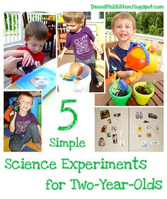 5 Simple Science Experiments for 2 Year Olds