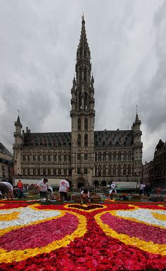 Brussels, Belgium. Been there and Belgium truly is beautiful and people very friendly
