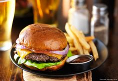 Get One of the Best Burgers at Binion's Roadhouse
