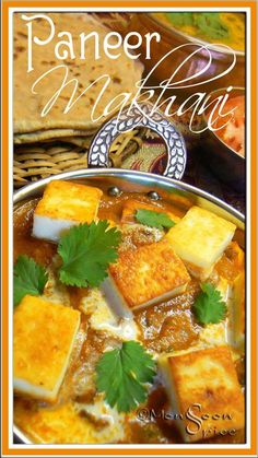 Paneer Makhani/Paneer Butter Masala ~  Fried Indian Cottage Cheese in a delicious Onion-Tomato Gravy
