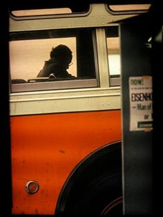 Saul Leiter. such an amazing sense of composition and color.
