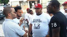 Artistas urbanos llegan al Palacio de Justicia para apoyar a Omega