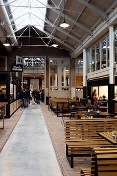AMS / de hallen , Sales Food Amsterdam