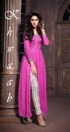 Buy maskeen Designer straight dress in Georgette| maskeen 2009