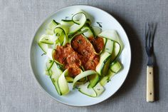 "Zucchini Marinara: A Raw ""Pasta"" for Summer on Food52"