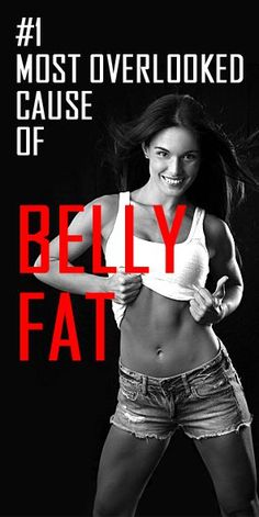Can't lose that really stubborn belly fat? This could be the reason… #stomachfat #fatburn #weightloss #flatbelly