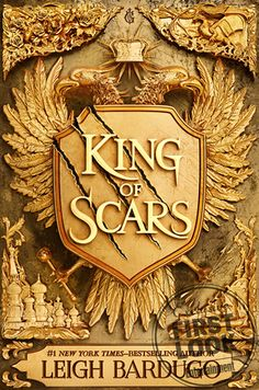 #CoverReveal King of Scars (Nikolai Duology, #1) by Leigh Bardugo