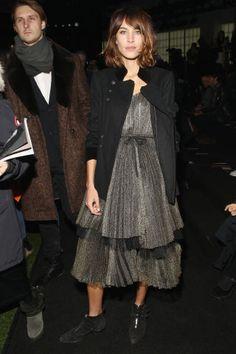 See who's sitting front row at New York Fashion Week: Alexa Chung