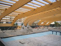 """Sports and Tourist Complex """"Bagni Clodia"""", Sottomarina (I) - Rubner Holzbau - The ideal partner for large wood projects"""