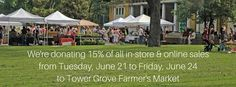 Zee Bee Market donates to Tower Grove Farmers Market