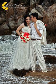 estudio trash the dress logra fotos increíbles para tu boda en playa por Bodas Huatulco