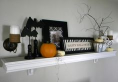 Holy Halloween Mantels Batman! - Home Stories A to Z