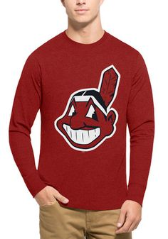 0faebe783a554  47 Cleveland Indians Mens Red Club Tee Cleveland Baseball