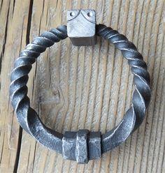 Comes in multiple sizes Blacksmith Supplies, Craft Iron, Twist Ring, Furniture Hardware, Door Knockers, Blacksmithing, Door Handles, Rings, Jewelry