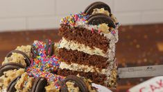 The Double Cookie Cake