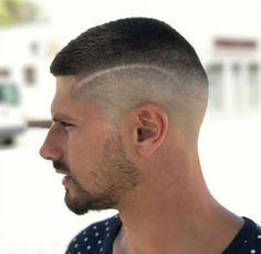 Men Haircuts for Straight Hair 2019 top 25 Low Maintenance Haircuts for Men 2019 Guide Of 96 Best Men Haircuts for Straight Hair 2019 Mens Buzz Haircuts, Cool Haircuts, Hairstyles Haircuts, 2018 Haircuts, Medium Short Hair, Short Hair Cuts, Short Hair Styles, Soldier Haircut, Razor Fade