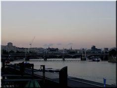 """Fotos Con Cariño: Puente """"Golden Jubilee"""" , Londres, al atardecer."""