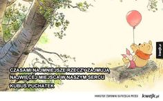 Mądre cytaty z bajek Disneya, które mogą wzbogacić twoje życie - KWEJK.pl - najlepszy zbiór obrazków z Internetu! Motto, Winnie The Pooh, Quotations, Disney Characters, Fictional Characters, Thoughts, Words, Day, Quotes