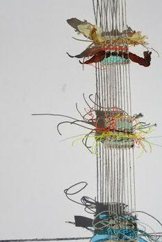 weave – Page 2 – alice fox Paper Weaving, Weaving Textiles, Weaving Art, Wire Weaving, Tapestry Weaving, Textile Fiber Art, Textile Artists, Weaving Projects, Art Projects