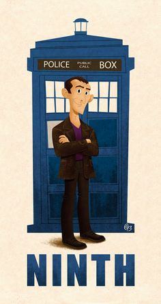 Erich Owen updates the Doctor Who collection; The Doctor, Serie Doctor, Ninth Doctor, Doctor Who Art, First Doctor, Trust, Christopher Eccleston, Police Box, Out Of Touch