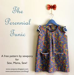 sewpony: Guest post at Sew, Mama, Sew!: The Perennial Tunic and a GIVEAWAY!!
