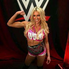 the new wwe divas champion Charlotte♥ woooo