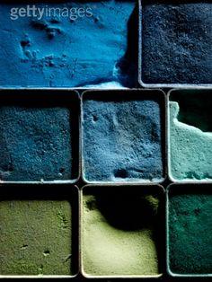 Petrol and blue http://decdesignecasa.blogspot.it/
