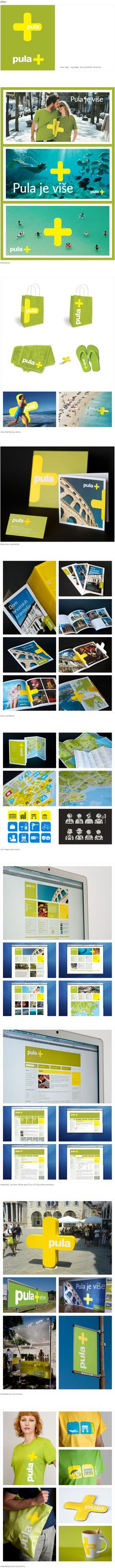 Branding for Pula, Croatia, by Parabureau 2010 #packaging #branding #marketing PD