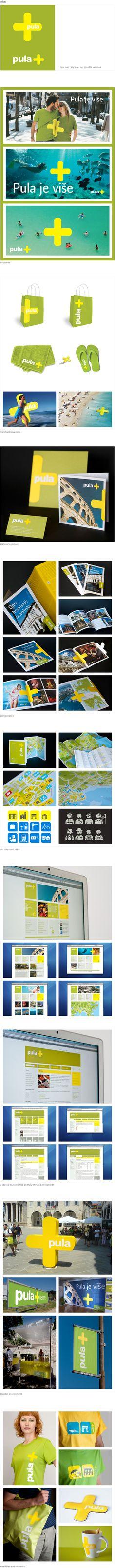 Branding for Pula, Croatia, by Parabureau 2010 #packaging #branding #marketing PD