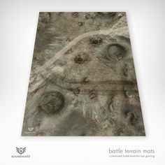 This Barren Wasteland gaming terrain mat is perfect for Warhammer, Warhammer 40K & Flames of War