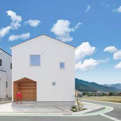 Facade Design, Exterior Design, Architecture Design, House Roof, Facade House, Japan House Design, House Tokyo, Muji Home, Minimal House Design