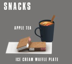 Lana CC Finds - Snacks by Leosims