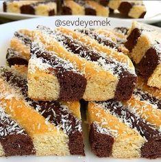 Kek Kurabiye Tarifi Cookie Desserts, Cookie Recipes, Cake Cookies, Cupcake Cakes, Turkish Recipes, Ethnic Recipes, Turkish Delight, Kakao, Desert Recipes