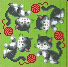Kitty biscornu