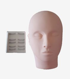 Mannequin Head with Eyelashes