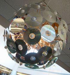 reciclado creativo de cd y dvd