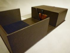 Clamshell Box For A Family Bible, With An Inner Box For Ephemera