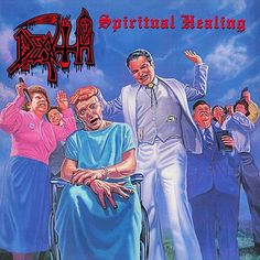 Death - Spiritual Healing on LP + Download Card (Awaiting Repress)