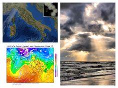 Nuvole, previsione GFS, protezione civile