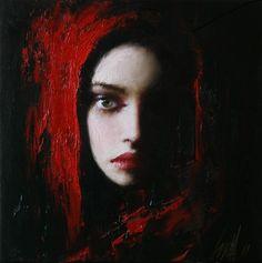 Taras Loboda 1961   Ukrainian Portrait painter