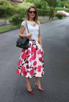 Ecstasy Models — Rose Print  Dolce & Gabbana sunglasses  Subdued...