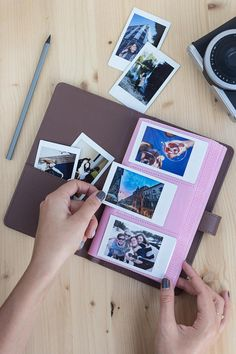 Instax Mini album / Polaroid album for 120 photos of your sweet memories. The Photo album is the perfect way to keep all your captured moments organised.  - Album is available in Brown colour. - Album size: 115 x 200 x 20 mm.