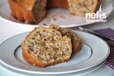 Havuçlu Cevizli Tarçınlı Kek Tarifi Turkish Recipes, Banana Bread, Biscuits, French Toast, Deserts, Muffin, Cooking Recipes, Tasty, Favorite Recipes